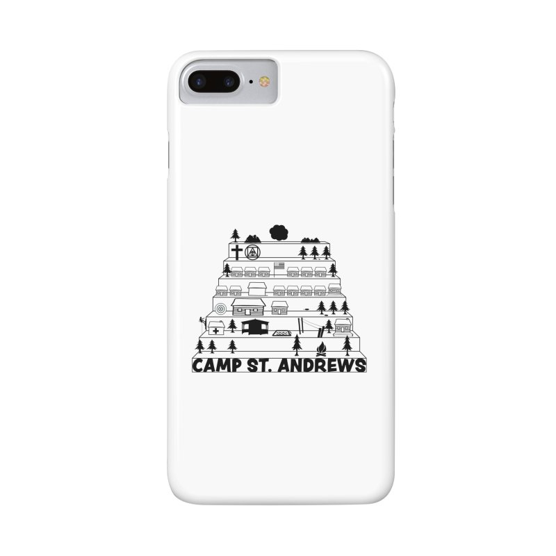 Stairs (black) Accessories Phone Case by Camp St. Andrews