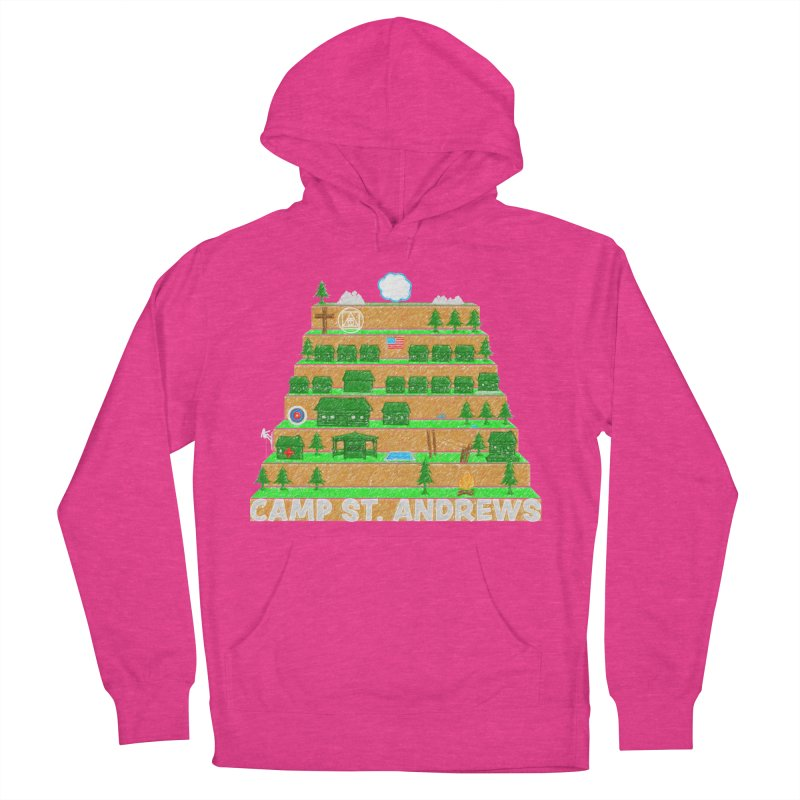 Stairs (color) Women's French Terry Pullover Hoody by Camp St. Andrews