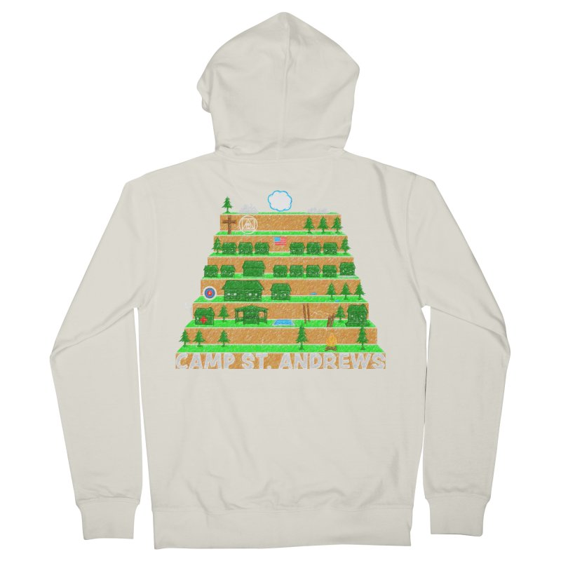 Stairs (color) Women's Zip-Up Hoody by Camp St. Andrews