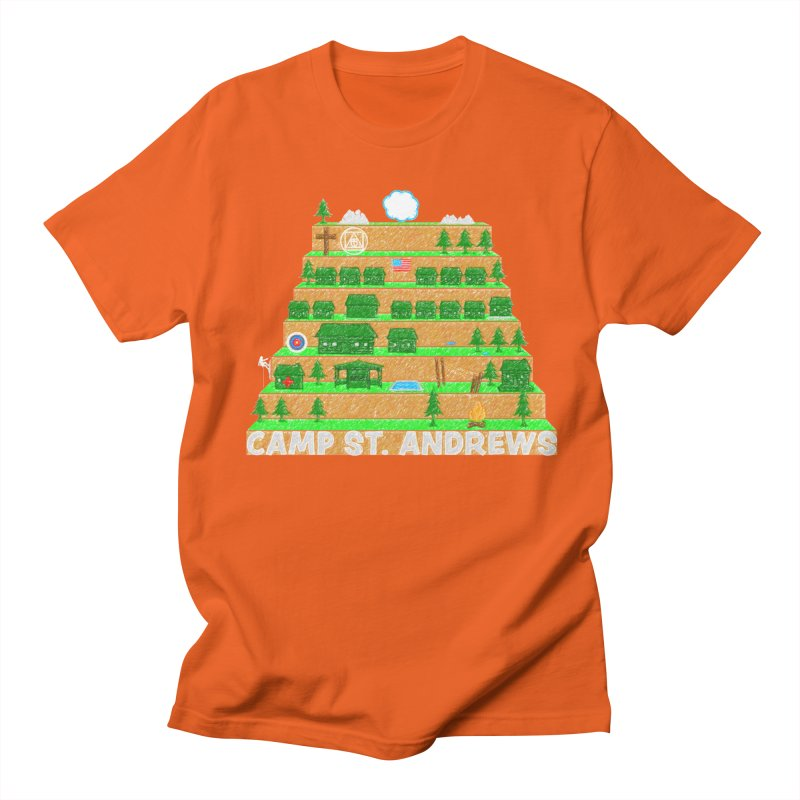 Stairs (color) Men's Regular T-Shirt by Camp St. Andrews