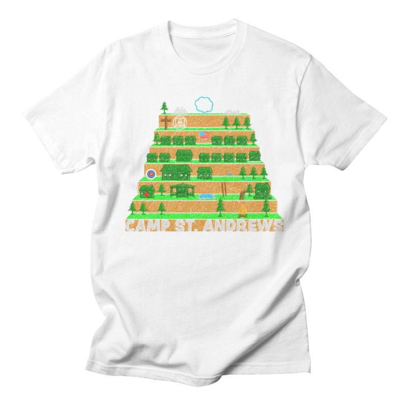 Stairs (color) Women's Unisex T-Shirt by Camp St. Andrews