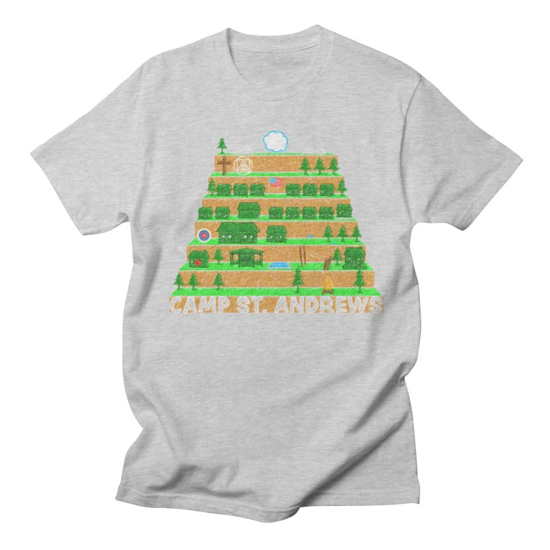 Stairs (color) Men's T-Shirt by Camp St. Andrews