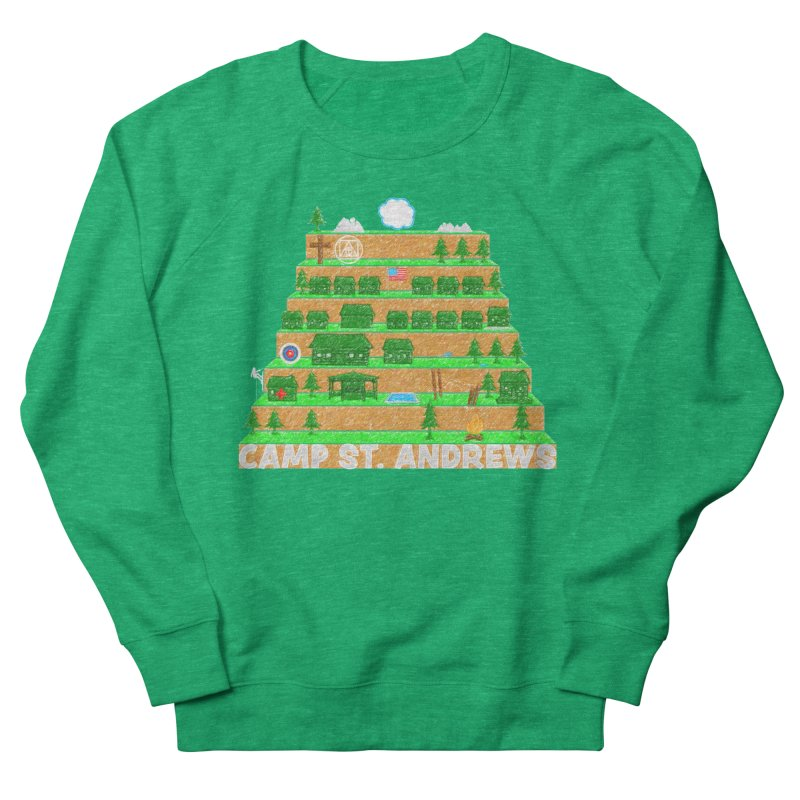 Stairs (color) Women's French Terry Sweatshirt by Camp St. Andrews