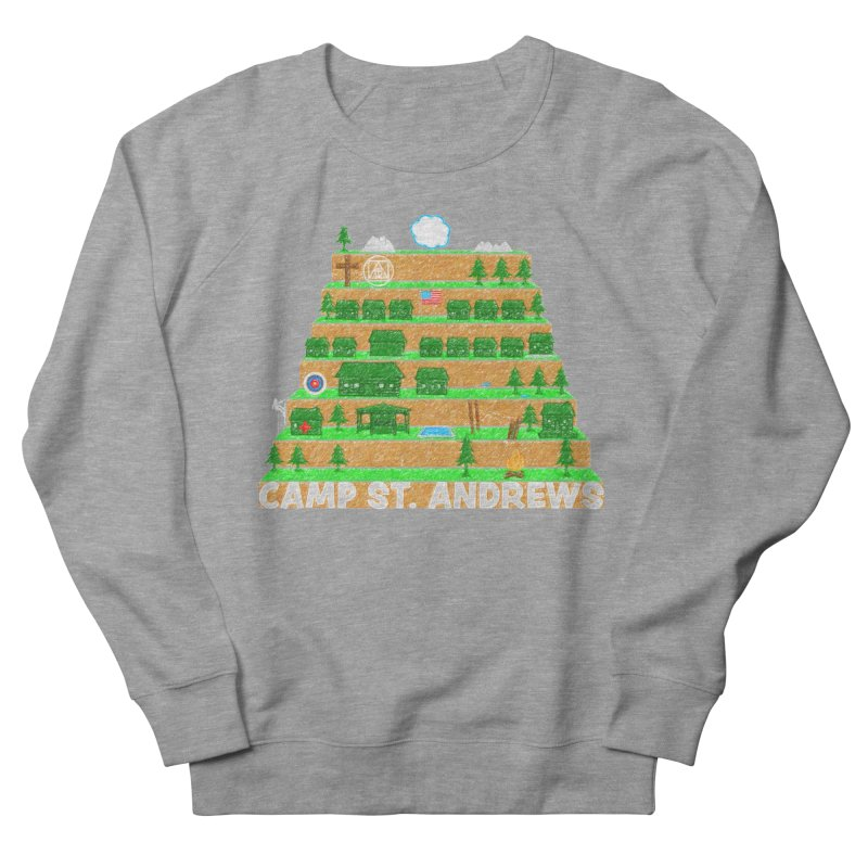 Stairs (color) Men's French Terry Sweatshirt by Camp St. Andrews