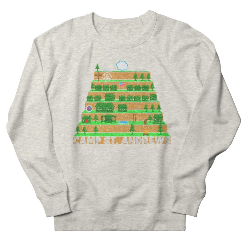 Stairs (color) Men's Sweatshirt by Camp St. Andrews