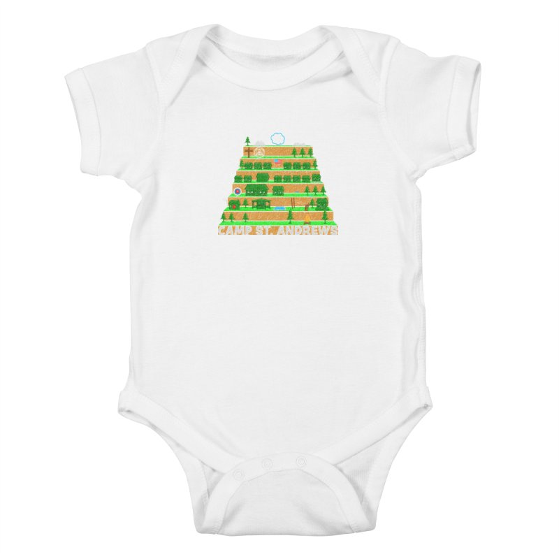Stairs (color) Kids Baby Bodysuit by Camp St. Andrews