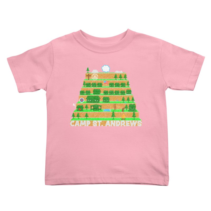 Stairs (color) Kids Toddler T-Shirt by Camp St. Andrews