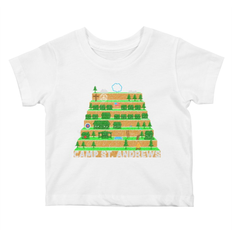 Stairs (color) Kids Baby T-Shirt by Camp St. Andrews