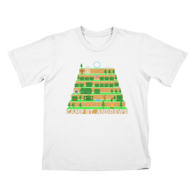 Stairs (color) Kids T-Shirt by Camp St. Andrews