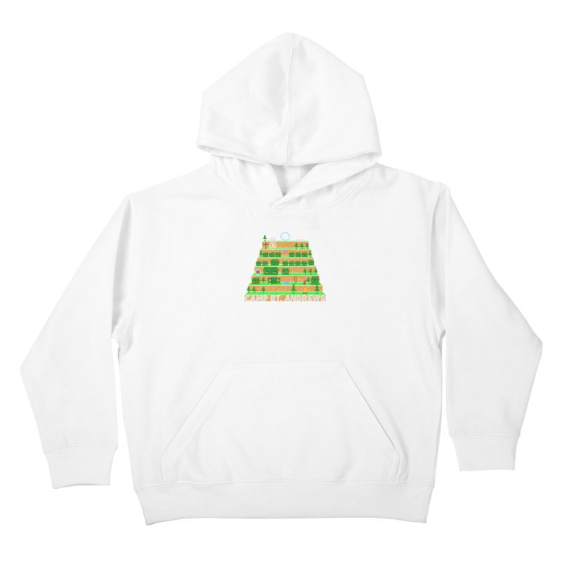 Stairs (color) Kids Pullover Hoody by Camp St. Andrews