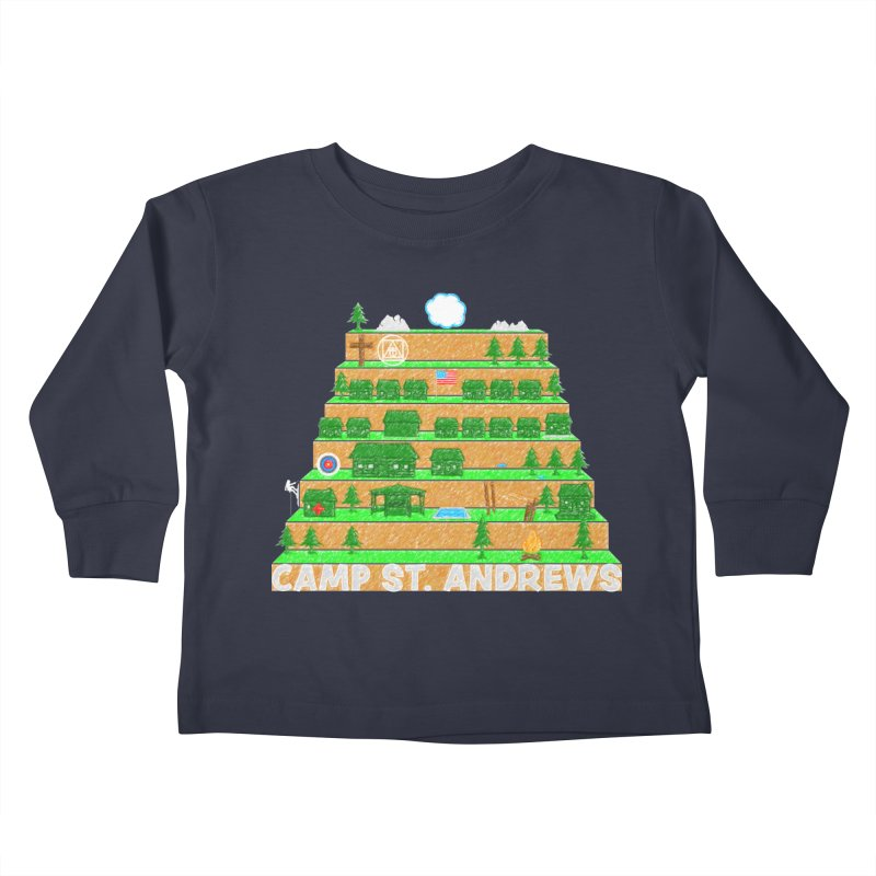 Stairs (color) Kids Toddler Longsleeve T-Shirt by Camp St. Andrews