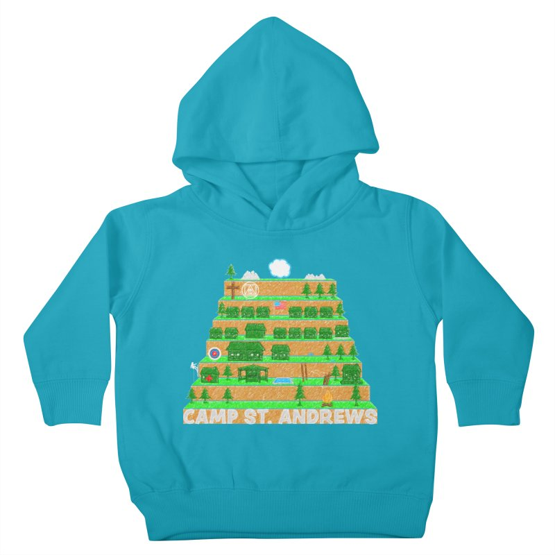 Stairs (color) Kids Toddler Pullover Hoody by Camp St. Andrews