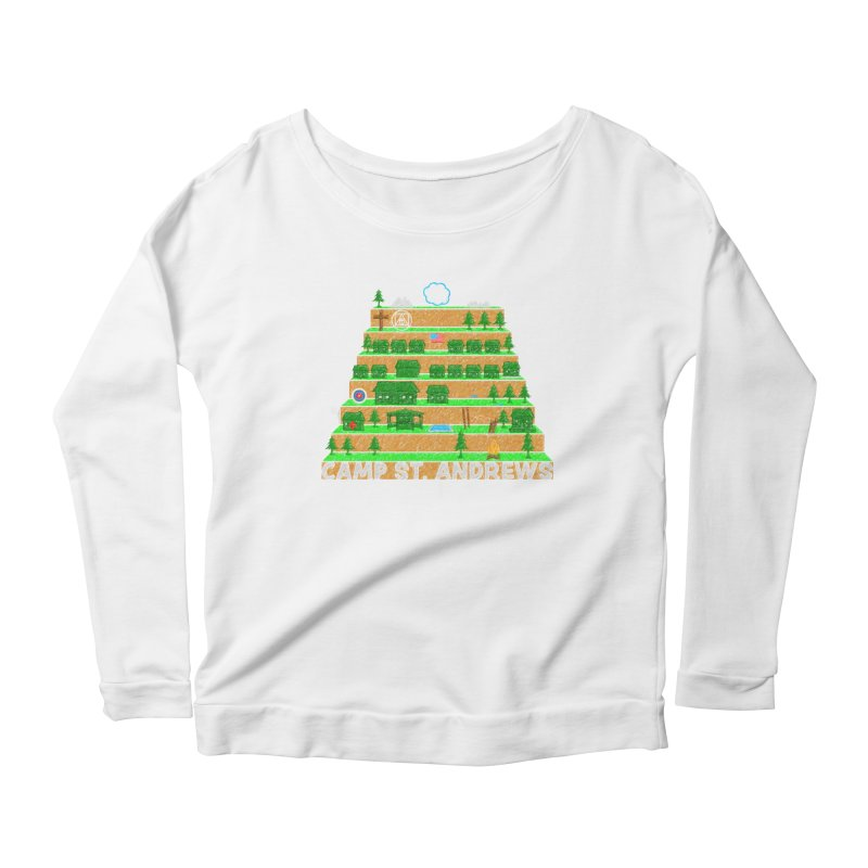 Stairs (color) Women's Scoop Neck Longsleeve T-Shirt by Camp St. Andrews
