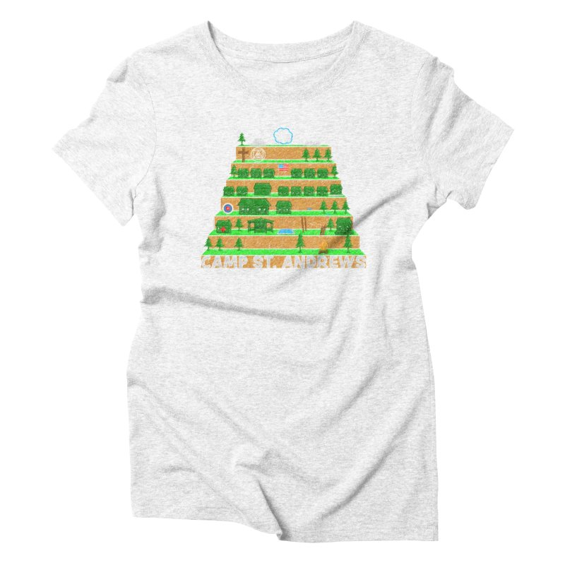 Stairs (color) Women's Triblend T-shirt by Camp St. Andrews
