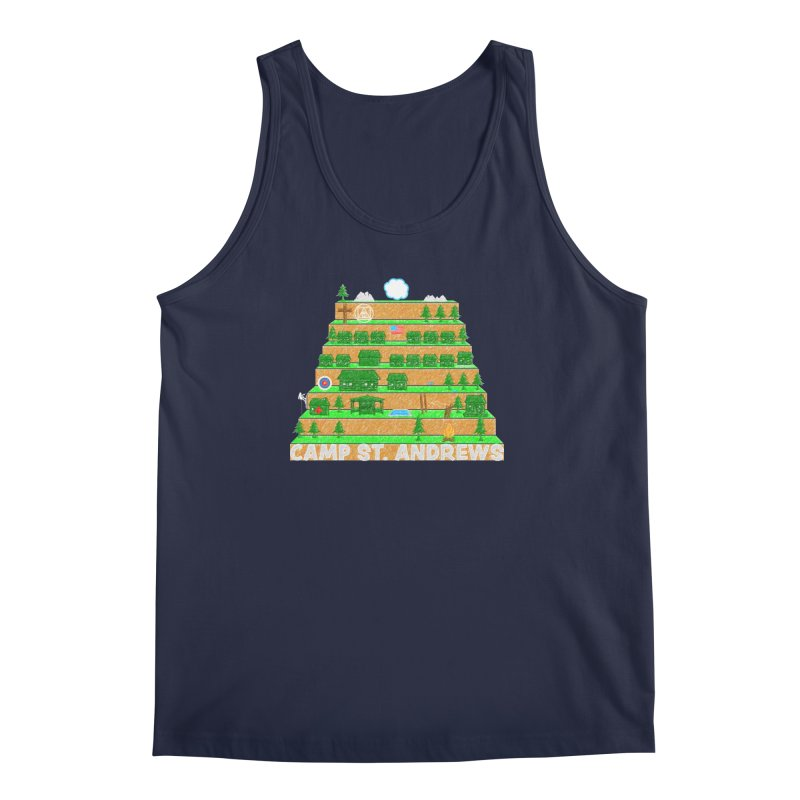 Stairs (color) Men's Tank by Camp St. Andrews