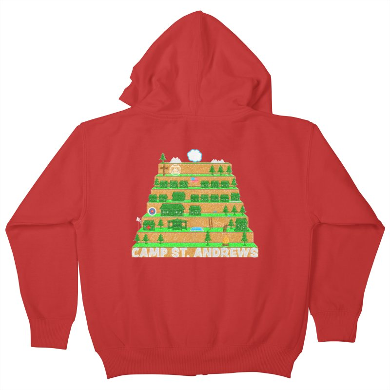 Stairs (color) Kids Zip-Up Hoody by Camp St. Andrews