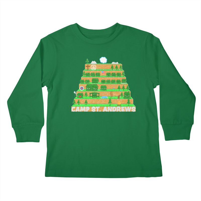 Stairs (color) Kids Longsleeve T-Shirt by Camp St. Andrews