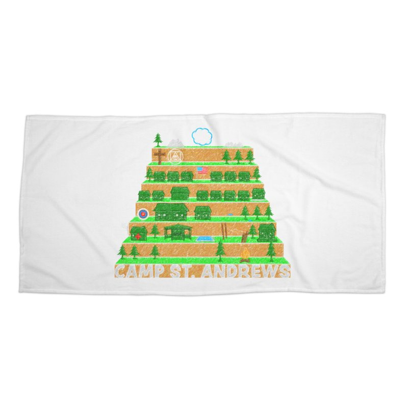 Stairs (color) Accessories Beach Towel by Camp St. Andrews