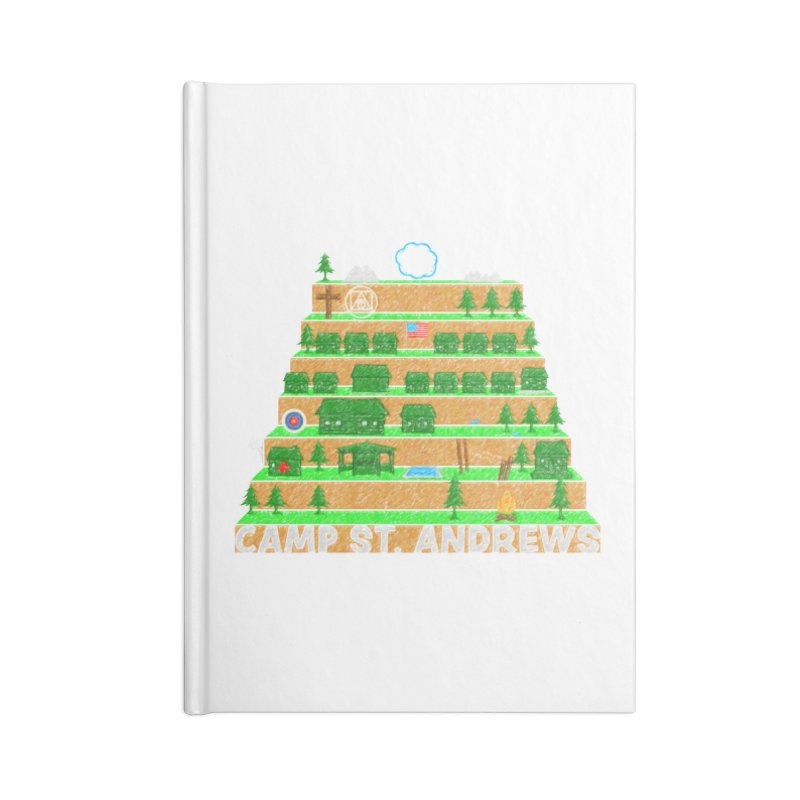 Stairs (color) Accessories Notebook by Camp St. Andrews