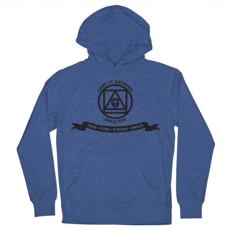 CSA Emblem (black) Men's Pullover Hoody by Camp St. Andrews