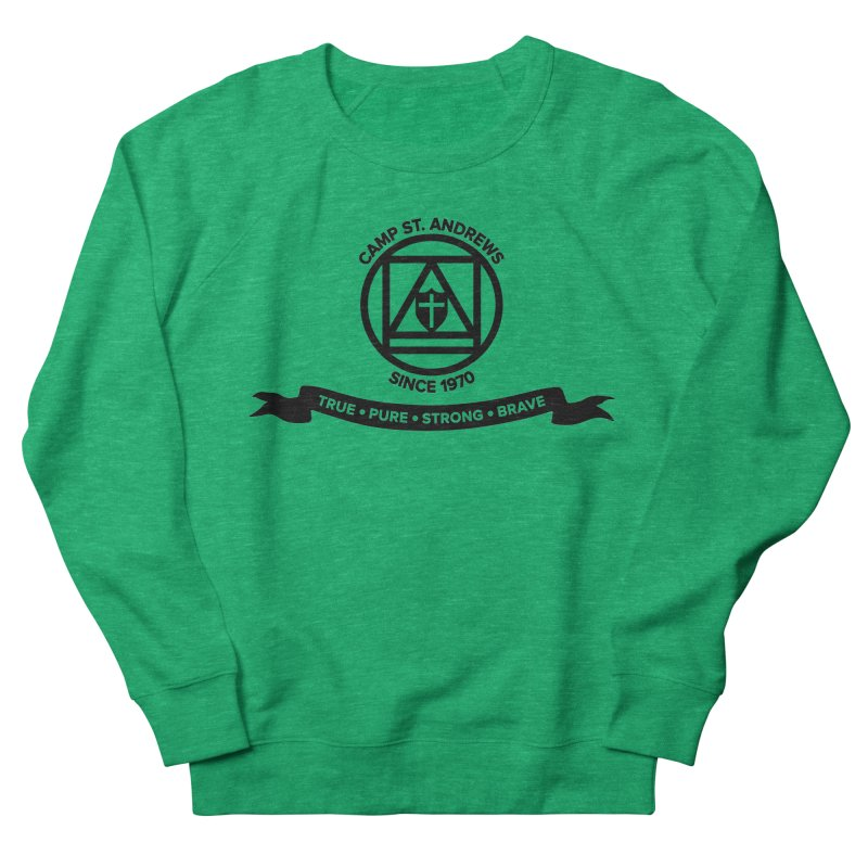 CSA Emblem (black) Men's Sweatshirt by Camp St. Andrews