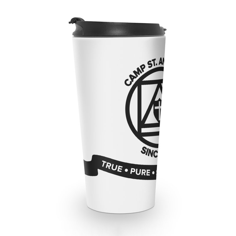 CSA Emblem (black) Accessories Travel Mug by Camp St. Andrews