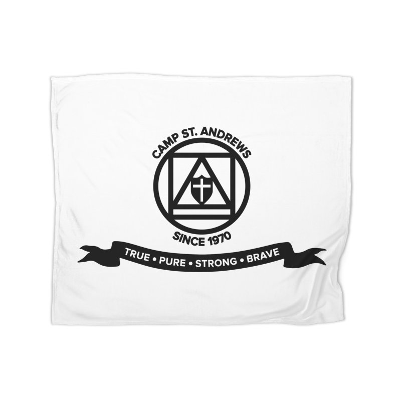 CSA Emblem (black) Home Blanket by Camp St. Andrews