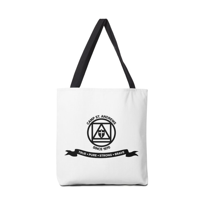 CSA Emblem (black) Accessories Bag by Camp St. Andrews