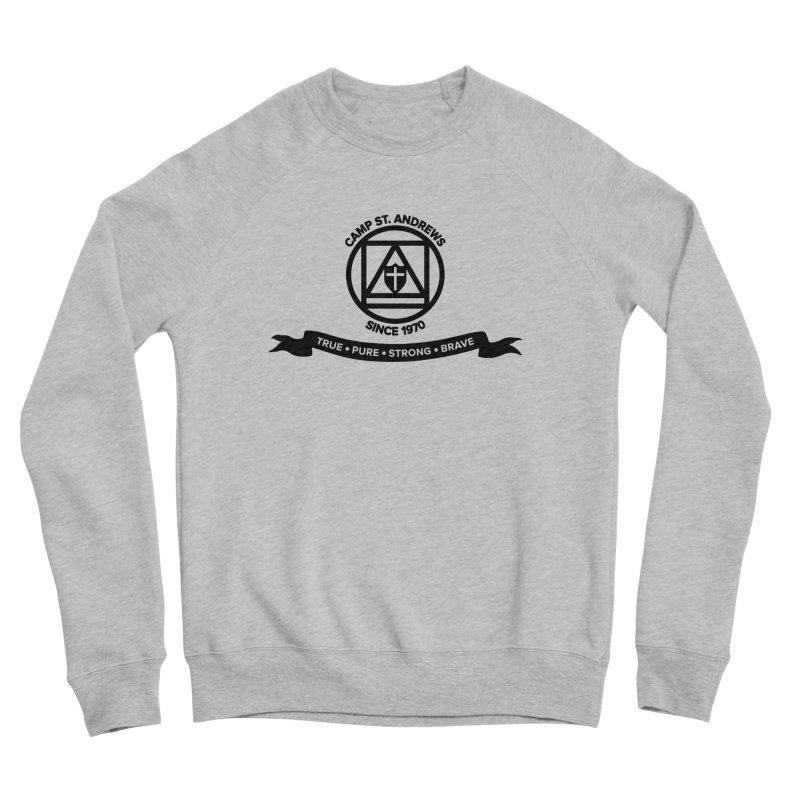 CSA Emblem (black) Women's Sponge Fleece Sweatshirt by Camp St. Andrews