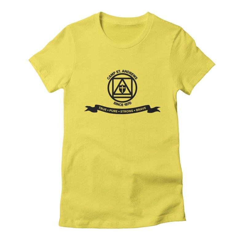 CSA Emblem (black) Women's T-Shirt by Camp St. Andrews