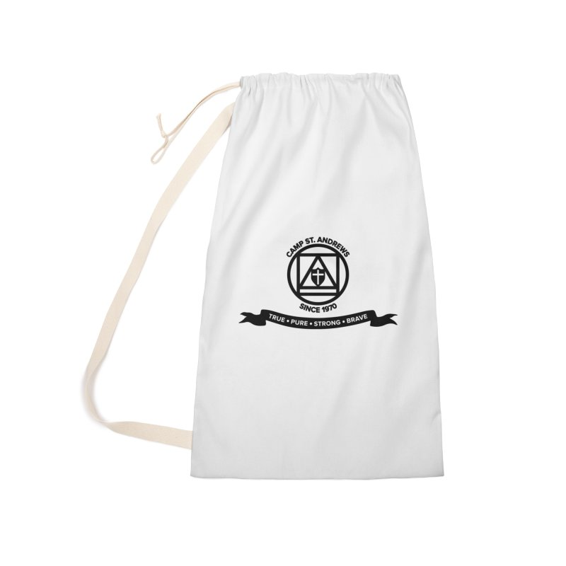 CSA Emblem (black) Accessories Laundry Bag Bag by Camp St. Andrews