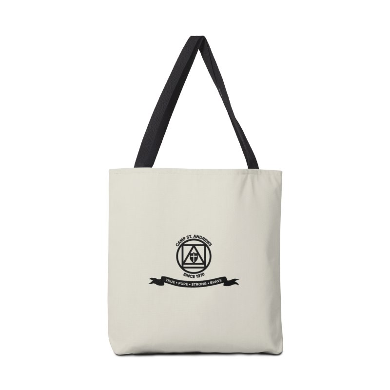CSA Emblem (black) Accessories Tote Bag Bag by Camp St. Andrews