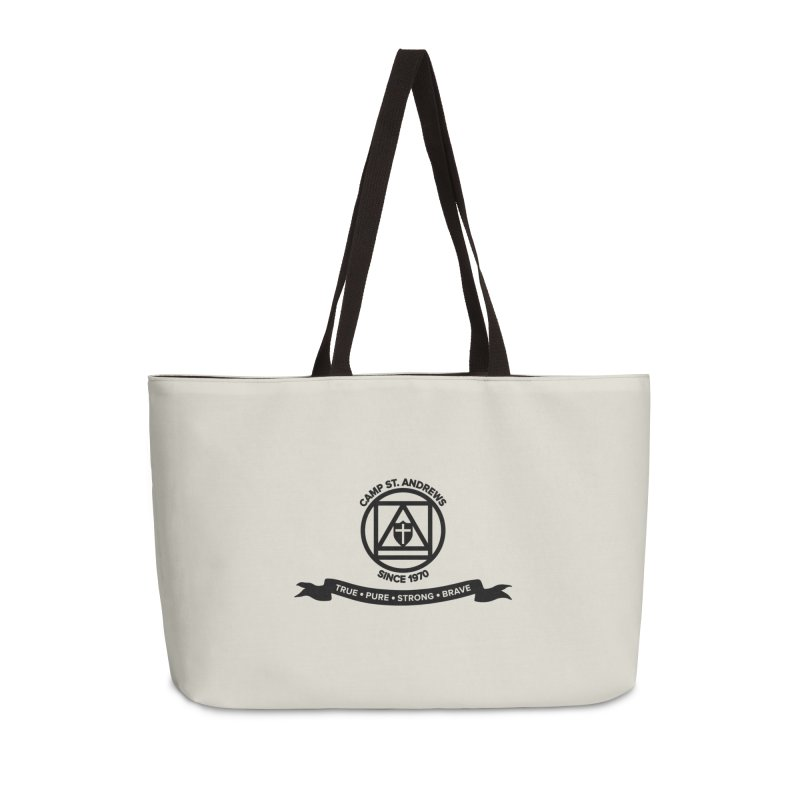 CSA Emblem (black) Accessories Weekender Bag Bag by Camp St. Andrews