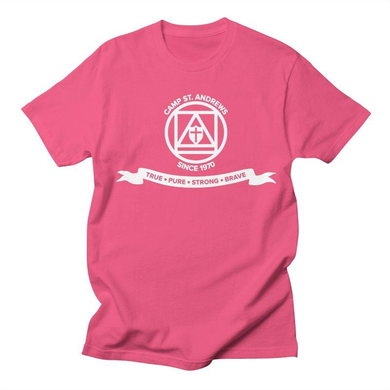 CSA Emblem (white) Women's Unisex T-Shirt by Camp St. Andrews