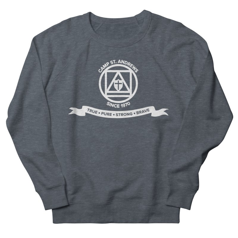 CSA Emblem (white) Women's Sweatshirt by Camp St. Andrews