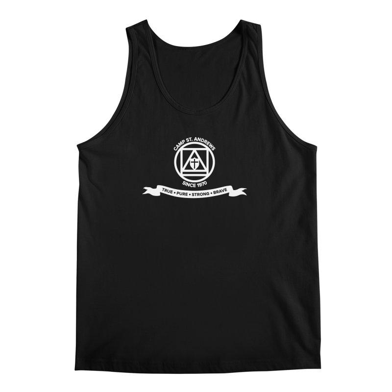 CSA Emblem (white) Men's Regular Tank by Camp St. Andrews