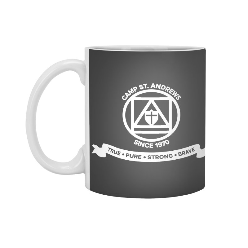 CSA Emblem (white) Accessories Standard Mug by Camp St. Andrews