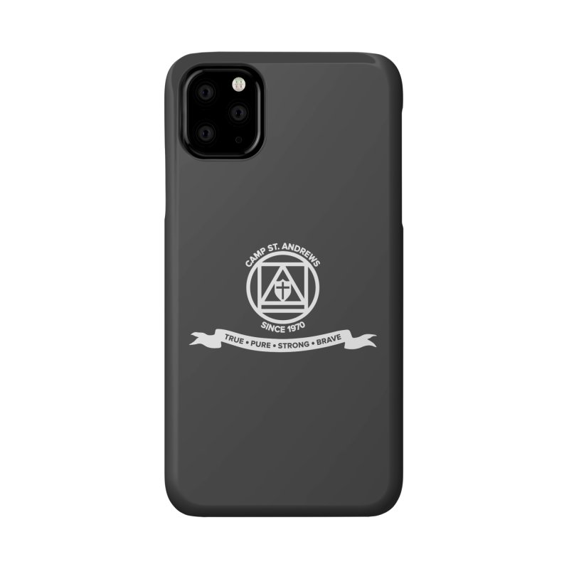 CSA Emblem (white) Accessories Phone Case by Camp St. Andrews