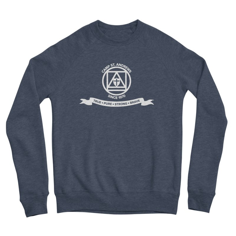 CSA Emblem (white) Women's Sponge Fleece Sweatshirt by Camp St. Andrews
