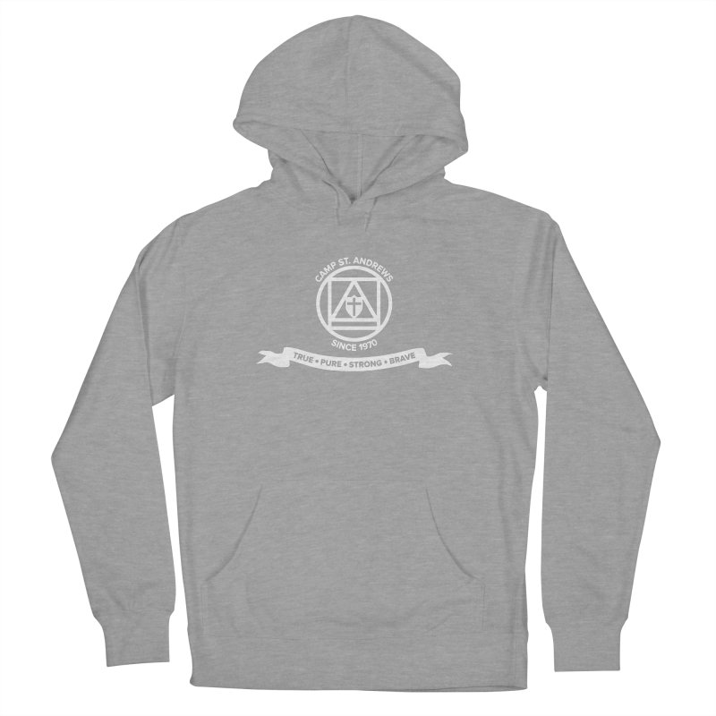CSA Emblem (white) Women's Pullover Hoody by Camp St. Andrews