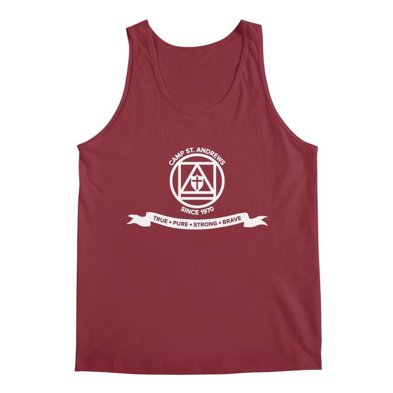 CSA Emblem (white) Men's Tank by Camp St. Andrews
