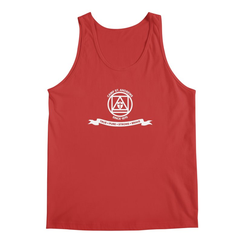 CSA Emblem (white) Men's Regular Tank by Camp St. Andrews