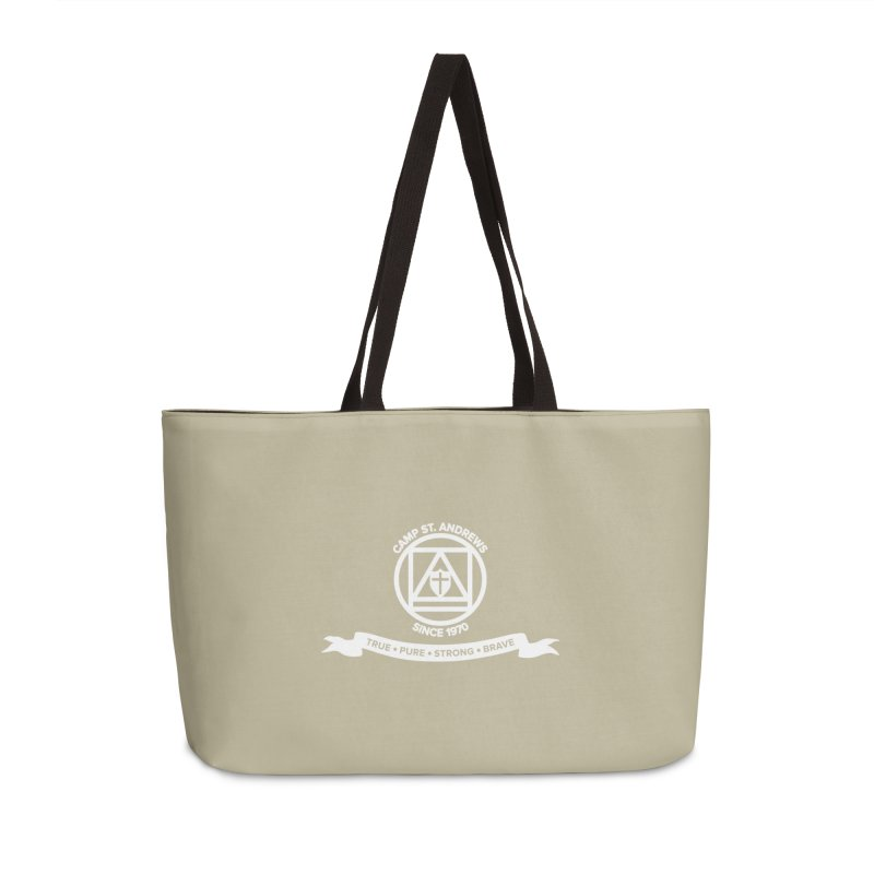 CSA Emblem (white) Accessories Weekender Bag Bag by Camp St. Andrews