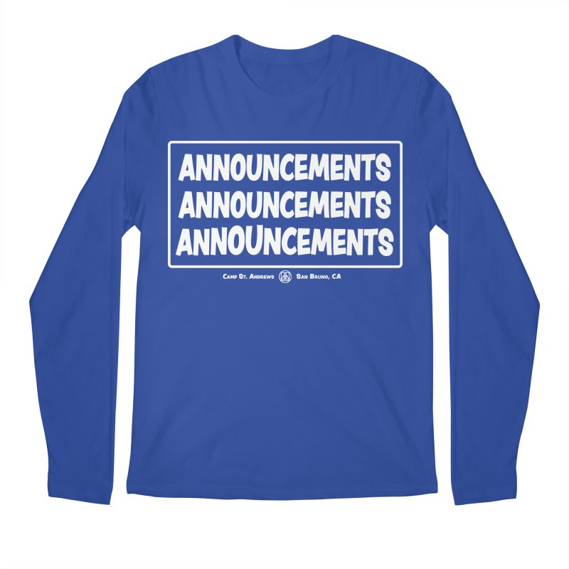 Announcements (white)   by Camp St. Andrews