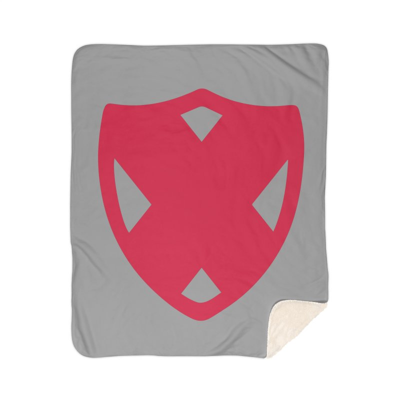 Shield Home Sherpa Blanket Blanket by Camp St. Andrews