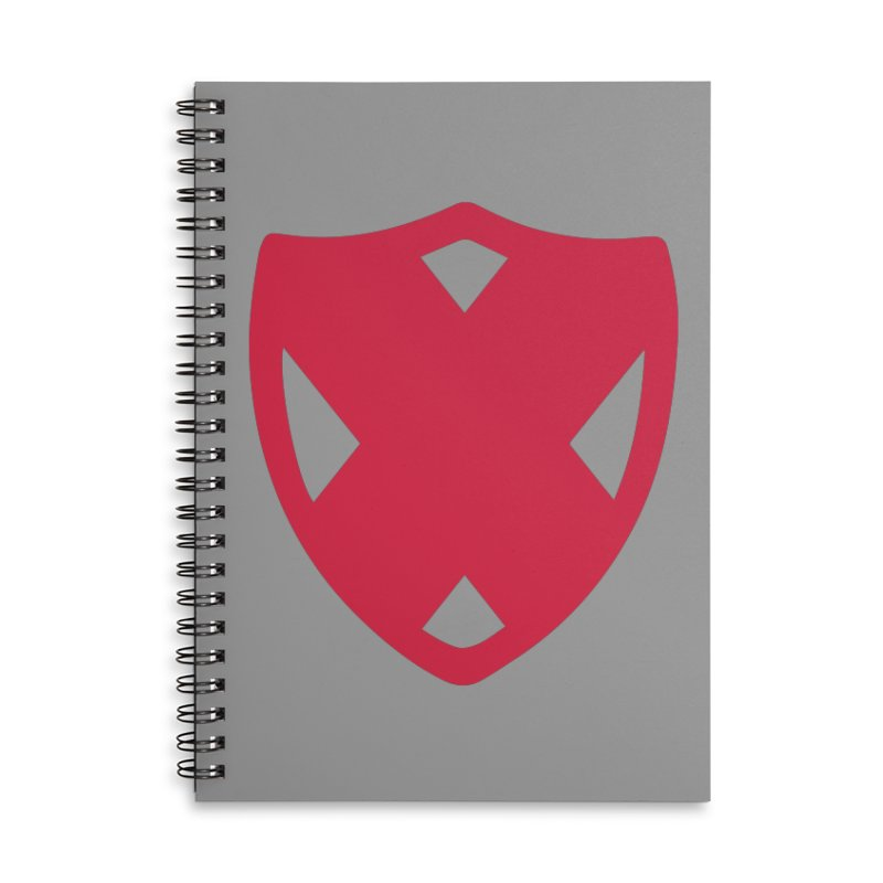 Shield Accessories Lined Spiral Notebook by Camp St. Andrews