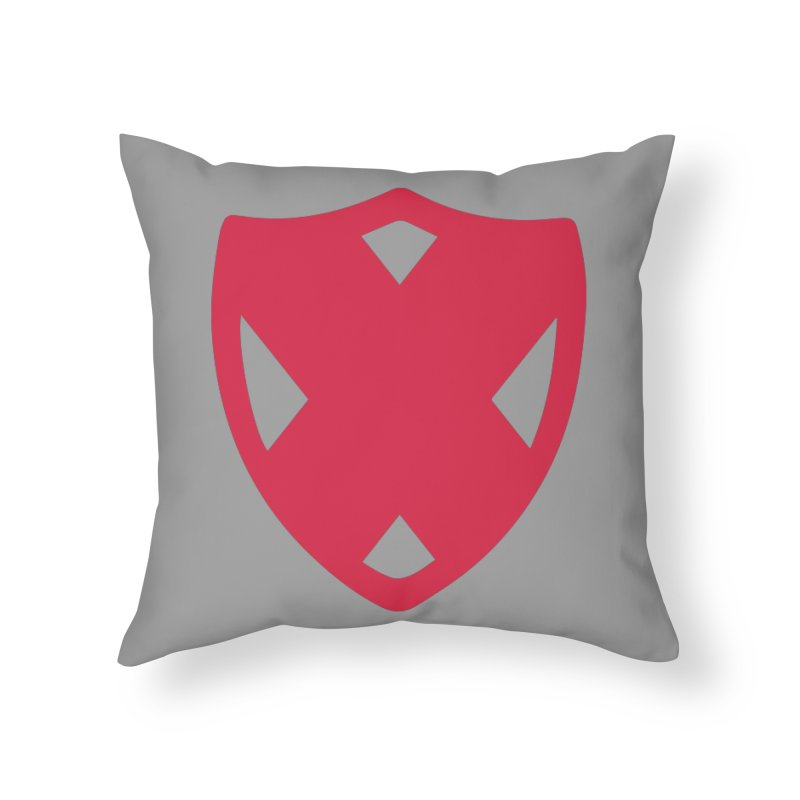 Shield Home Throw Pillow by Camp St. Andrews