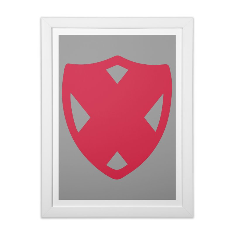 Shield Home Framed Fine Art Print by Camp St. Andrews