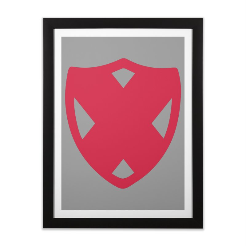 Shield Home Framed Fine Art Print by Camp St. Andrews