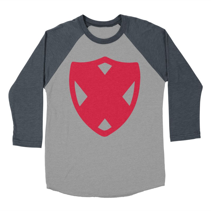 Shield Men's Baseball Triblend Longsleeve T-Shirt by Camp St. Andrews